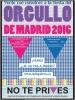 Viaje al Orgullo de Madrid 2016